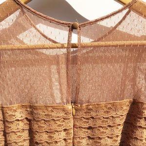 Free People Dresses - Free People Vintage Long Sleeve Mini Dress